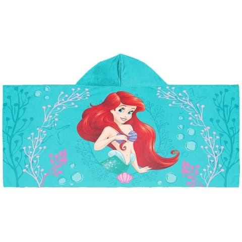Disney The Little Mermaid Hooded Towel