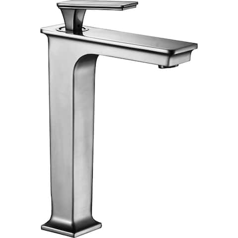 ANZZI Saunter Single-Handle Vessel Bathroom Faucet in Brushed Nickel