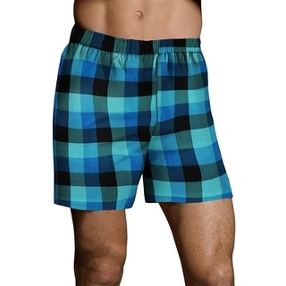 Hanes Mens TAGLESS Ultimate Fashion Boxer with CFlW 3PK (UTHXX3)