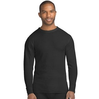 Hanes mens Organic Cotton Thermal Crew (14500)