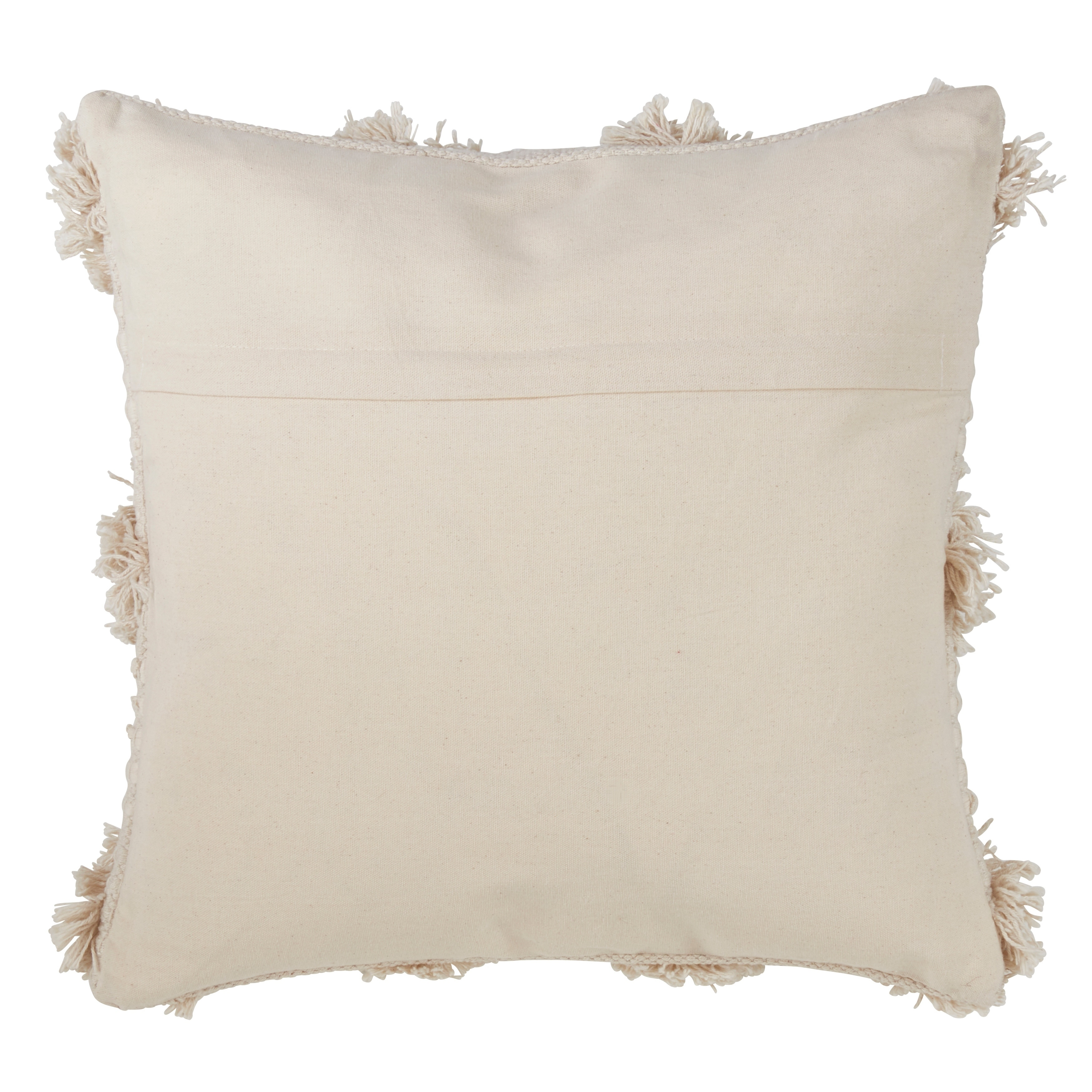 Moroccan Tufted Down Filled Throw Pillow N A