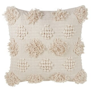 Moroccan Tufted Down Filled Throw Pillow