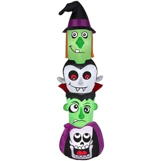 Link to Halloween Airblown Inflatables Halloween Totem Pole Similar Items in Outdoor Halloween Decorations