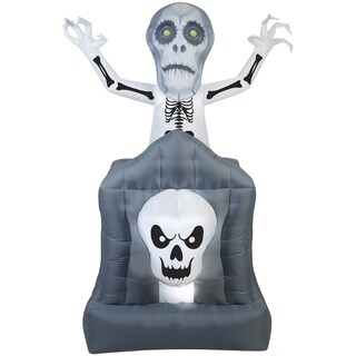 Link to Halloween Airblown Inflatables Pop-Up Ghost in Haunted Tomb Similar Items in Outdoor Halloween Decorations