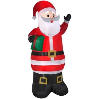 Link to Christmas Airblown Inflatables Santa w/Present Similar Items in Christmas Decorations