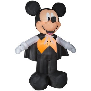 Link to Halloween Airblown Inflatables Disney Mickey Vampire in Orange Vest Similar Items in Christmas Decorations