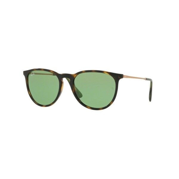 bc6a5dd33bc Shop Ray-Ban Erika RB4171 Tortoise Frame Green Classic 54mm Lens Sunglasses  - Free Shipping Today - Overstock - 22828563
