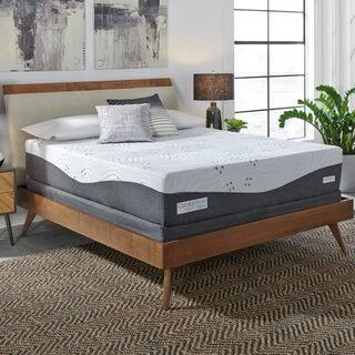 ComforPedic Loft from BeautyRest 14-inch California King-size NRGel Memory Foam Mattress Set