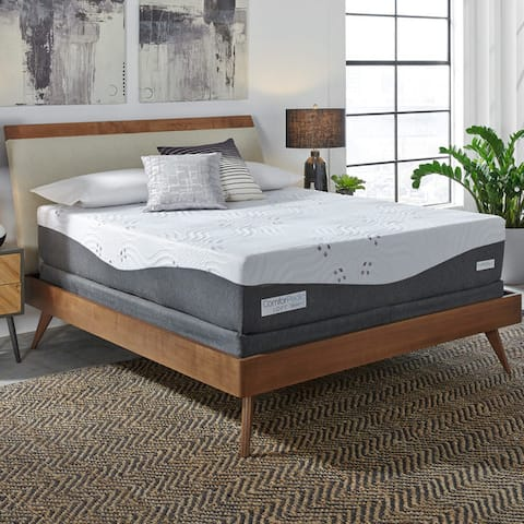 ComforPedic Loft from BeautyRest 14-inch NRGel Memory Foam Mattress Set