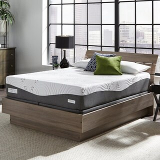 ComforPedic Loft from BeautyRest 12-inch California King-size NRGel Memory Foam Mattress Set