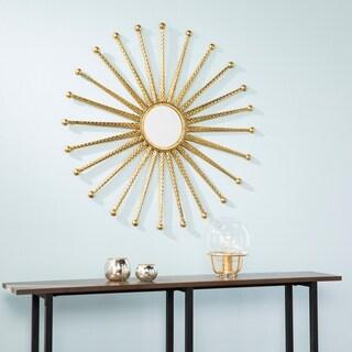 Kandi Gold Starburst Decorative Wall Mirror