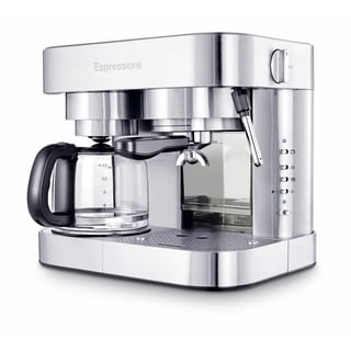 Combination Espresso Machine & 10-Cup Drip Coffeemaker