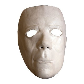 Trick Or Treat Studios Halloween II Deluxe Mask - Adult Sized Halloween Costume Mask