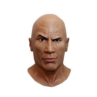 Trick Or Treat Studios WWE: The Rock Halloween Costume Mask