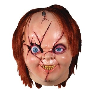Trick Or Treat Studios Bride of Chucky: V2 Chucky Mask Halloween Costume Mask