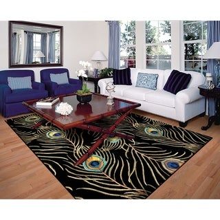 KAS Catalina Peacock Feathers Rug