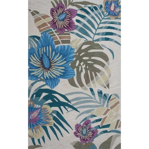 Porch & Den Hand-tufted Tropical Palm Area Rug