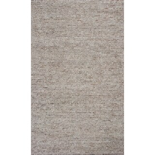 KAS Rugs Cortico Natural Horizons Multicolored Wool Area Rug - 9' x 13'