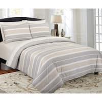 Modernist Modern Stripe Comforter Set