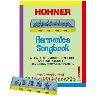Hohner Kids PL-106 - Learn to Play Harmonica Package