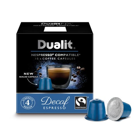 NX Decaf Espresso 60 pack (6 boxes of 10 capsules)