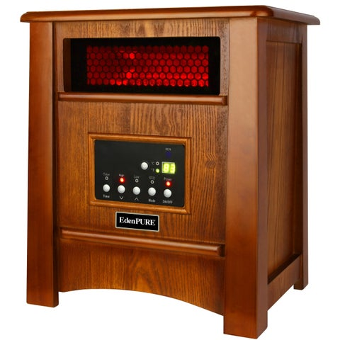 EdenPURE CopperHX W3 Elite Heater (Maple Finish)