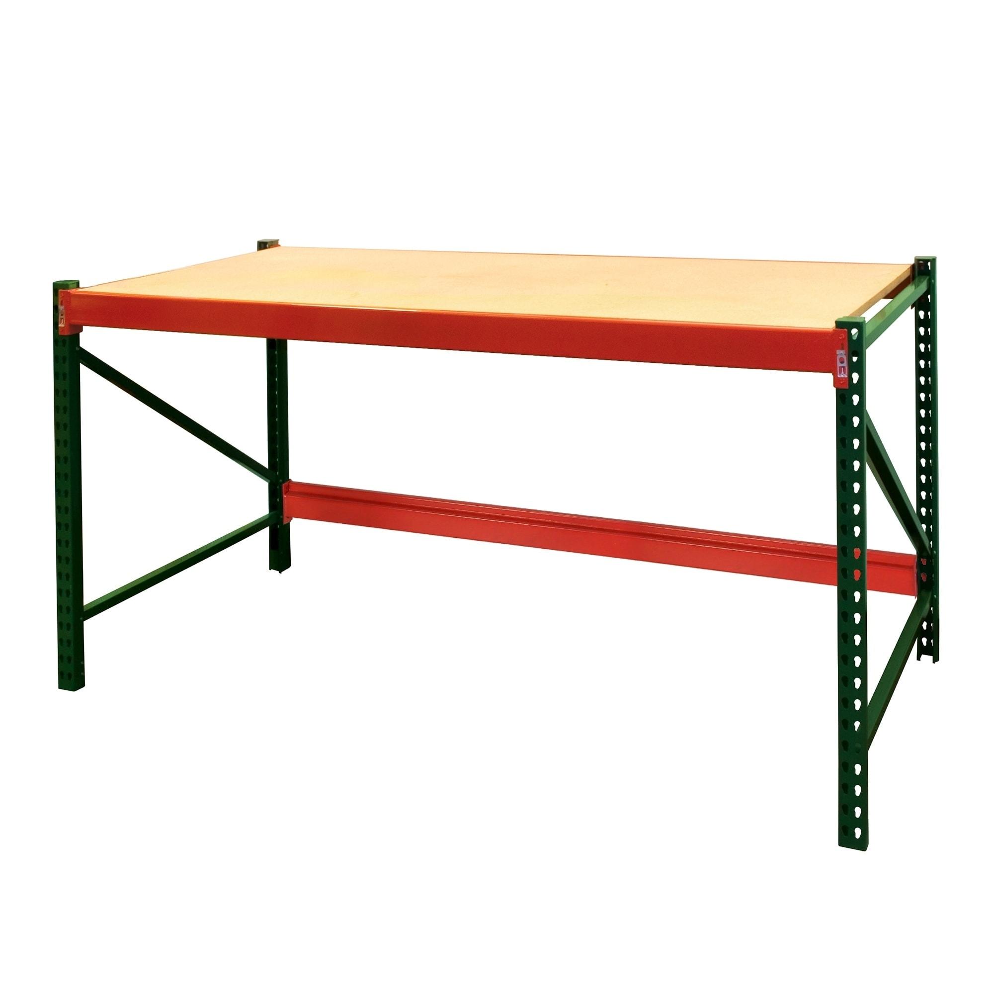 Miraculous Shelving Pro Steel Workbench Industrial Grade 6 Ft W X 3 Ft H X 3 Ft D Beatyapartments Chair Design Images Beatyapartmentscom