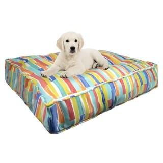 Bessie & Barnie Water Resistant Brickell Outdoor Luxury Durable Sicilian Rectangle Pet/Dog Bed