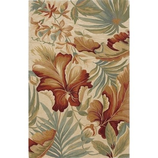 Copper Grove Hand-tufted Wool Floral Area Rug