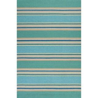 KAS Harbor Ocean Stripes Rug
