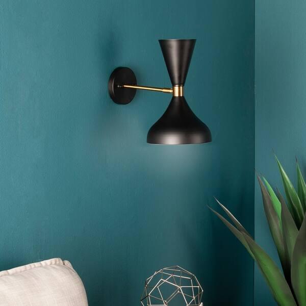 huge selection of 282de 04ddb Shop Carson Carrington Jabo Indoor Decorative Wall Sconce ...
