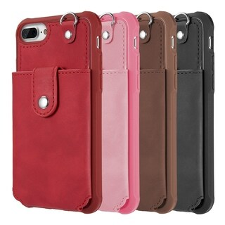 Iphone 8 / 7 / 6 Plus The In-Out Leather Wallet Case w Detachable Case