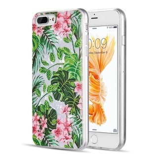 Iphone 8 / 7 / 6 PLUS Seashell Fusion Candy Case With Printed Design Pattern