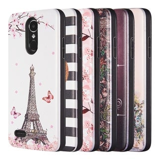 Lg K8 2017 / Lg Aristo 2 Art Pop Series 3D Embossed Hybrid Case