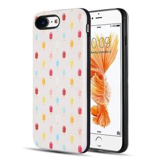 Iphone 8 / 7 Art Pop Series 3D Embossed Printing Hybrid Case
