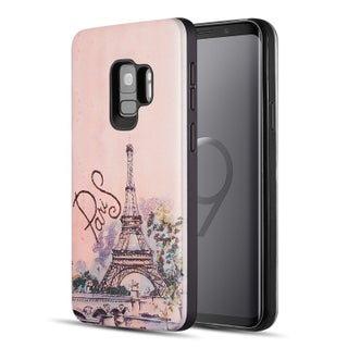 Samsung Galaxy S9 Art Pop Series 3D Embossed Printing Hybrid Case