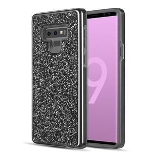Samsung Galaxy Note 9 Diamond Platinum Collection Hybrid Bumper Case