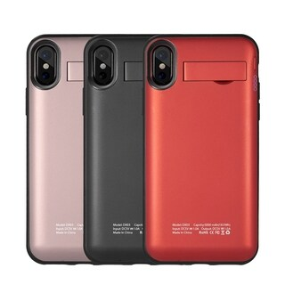 Iphone X 5000Mah UV Battery Case W/ Detachable Wireless Charger Pack
