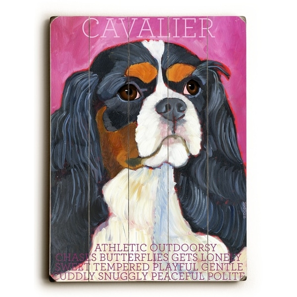 Cavalier - Planked Wood Wall Decor by Ursula Dodge