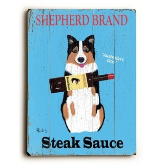Shepard Brand -   Planked Wood Wall Decor by Ken Bailey