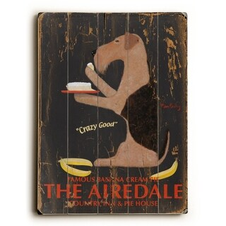 The Airdale -   Planked Wood Wall Decor by Ken Bailey