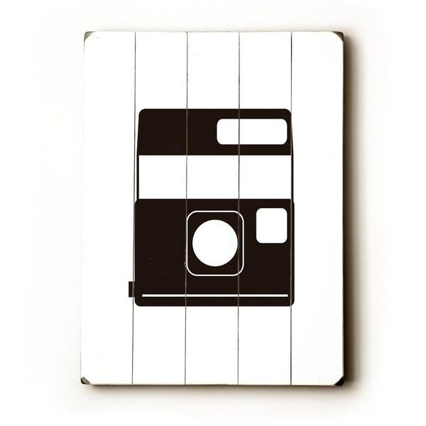 Polaroid - Planked Wood Wall Decor by Amanda Catherine