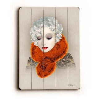 Gwen -   Planked Wood Wall Decor by Krista Brock