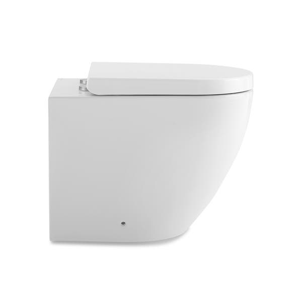 Enjoyable Shop St Tropez Back To Wall Concealed Tank Toilet Bowl Beatyapartments Chair Design Images Beatyapartmentscom