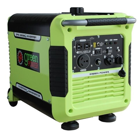 3500 Watt Digital Portable Inverter Generator w/Electric Start, CARB - N/A