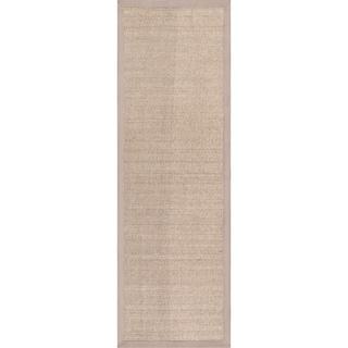 Porch & Den Howard Braided Sisal Area Rug (Khaki - 2 6 x 8 Runner)