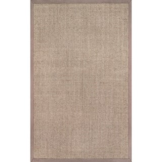 Porch & Den Howard Braided Sisal Area Rug (Khaki - 8 x 10)
