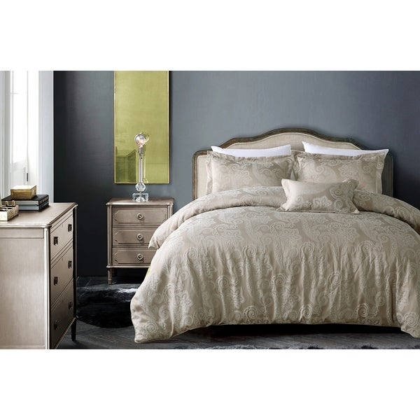 Hotel Paisley Luxe Duvet Cover Set