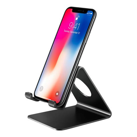 Mpow Cell phone Stand Tablet Stand for Kindle, iphone X/8/7/6/Samsumg Galaxy, Google, HTC, LG, iPad, Nintendo Switch
