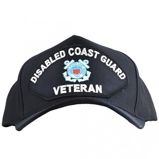 Disabled Coast Guard Veteran Hat Made In USA
